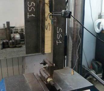 Prova di taglio su laminato sandwich e rilevazione modulo mediante estensimetro (ASTM C273)