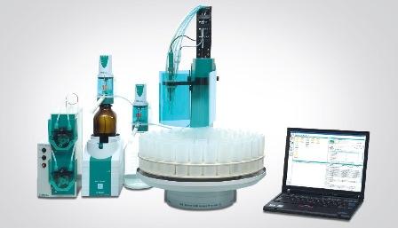 Sistema automatizzato prodotto da Metrohm che permette la valutazione del total base number (TBN) e del total acid number (TAN)