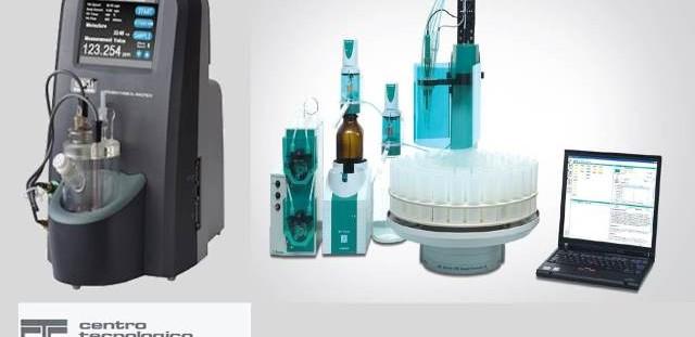 Strumentazione automatica per la determinazione di acqua in tracce e parametri TAN e TBN