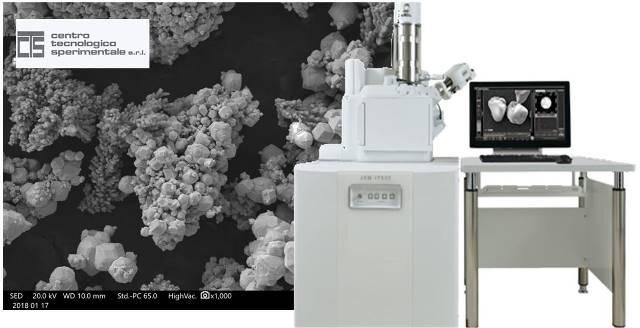 JEOL JMS IT 500-LA: MICROSCOPIO ELETTRONICO A SCANSIONE (SEM) a pressione variabile con sistema di microanalisi EDS integrato JOEL