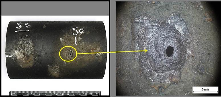 CTS @Giornate Nazionali sulla Corrosione e Protezione – Indagini di laboratorio effettuate su uno spezzone di tubo da fumo